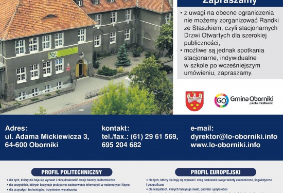 Zapraszamy do naszej szkoły :)